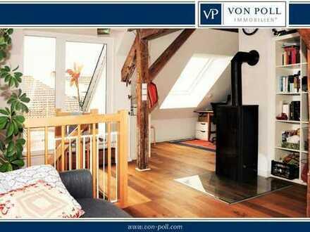 3-Zimmer Maisonette-Wohnung mit 15 m² Dachterrasse in Kleefeld
