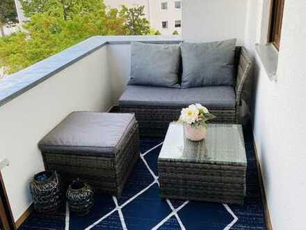 Stilvolle, modernisierte 2-Zimmer-Wohnung mit Balkon in Speyer