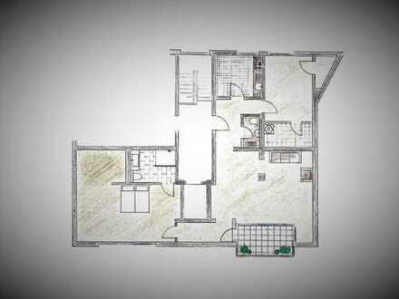 Erstbezug nach Sanierung: freundliche 3-Zimmer-Dachgeschosswohnung mit Balkon in Duisburg