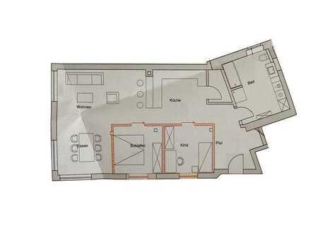 Großzügige 3 Zimmerwohnung ab Januar 2021 zu vermieten