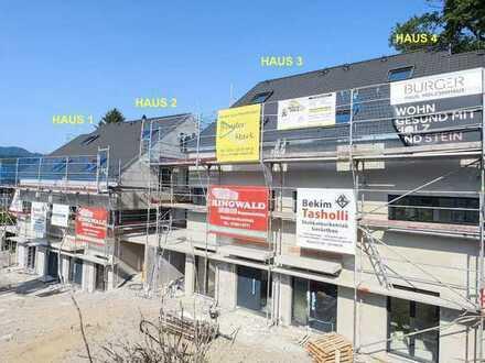 Haus 1, NEUBAU / ERSTBEZUG, Luxuriöse Doppelhaushälfte mit 6 Zi. und Carport, Bez. ab 01.10.