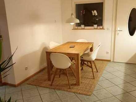 Möblierte 2-Zi-Wohnung (Souterrain) mit Gartenabteil in Gundelfingen inkl. Wlan, Strom etc.