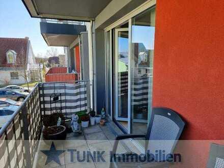 Barrierefreies Wohnen - 2 Zimmer mit Balkon, Einbauküche und Autostellplatz in der Domicilia Resi...