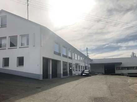 Gewerbeobjekt 1500m2 für Produktion, Lager, Büro - auch als Teilflächen zu vermieten