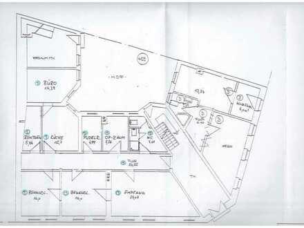 Praxis-/Büroräume - Innenstadt - EG - 3 PKW Stellplätze