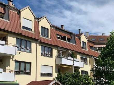 Große Dach-Maisonnette-Wohnung in der Firnhaberau auch für Kapitalanleger