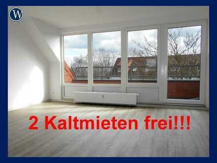 2 Monate Kaltmiet-FREI!! Frisch renovierte 3 Zimmer + Balkon, neues Bad, neuer Boden, guter Schnitt