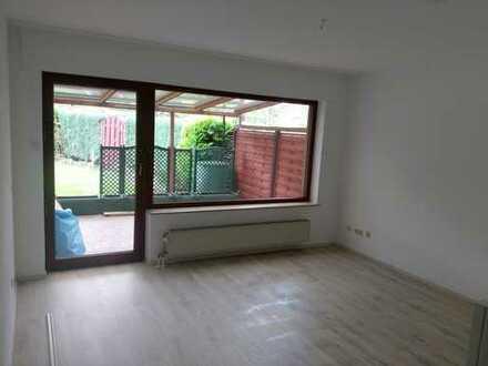 1,5-Zimmer-Apartment mit Terrasse und Einbauküche (Nische) in Bottrop für alleinstehende Person
