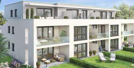 Neubau Erstbezug: exklusive 2-Zimmer-Wohnung mit EBK und Balkon City-Garten in Wendlingen am Neckar