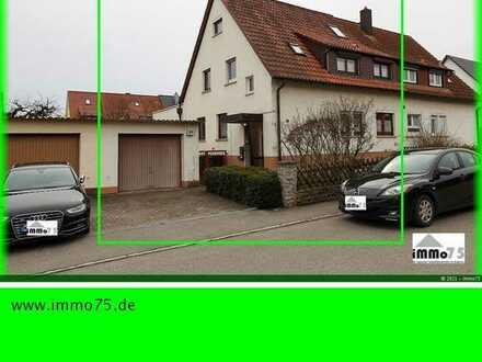 riesige Doppelhaushälfte mit Terrasse, Garten, Garage