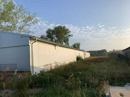 Lagerhalle mit Außenflächen zu vermieten in Osterburg