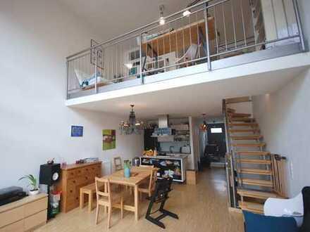 Endlich zuhause: Maisonettewohnung mit Garten, Stellplatz und Keller