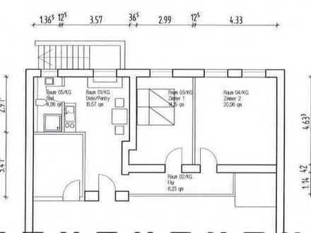 kleine Wohnung am Stadtrand