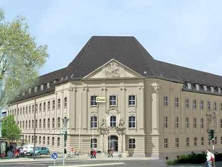 Nachmieter gesucht: KARMELITERHÖFE moderne Bürofläche mit viel Glas und hohen Decken