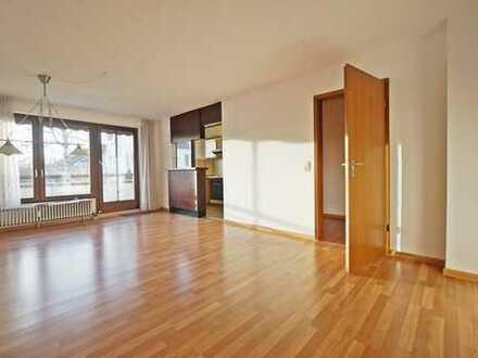 Sehr schöne 2-Zimmer-Wohnung mit Balkon & TG-Stellplatz in sonniger und ruhiger Wohnlage!