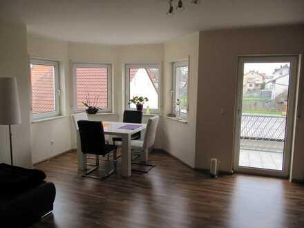 2 Zimmer-Wohnung 64m² möbliert mit großem Balkon