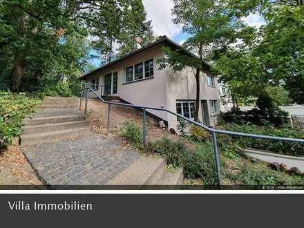 Stadtvilla mit ELW, Garage und Garten im beliebten Villenviertel von Mainz-Gonsenheim
