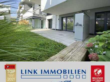 Greenliving vom Feinsten: elegante 5,5-Zi.- Whg. mit Garten in S-Wangen
