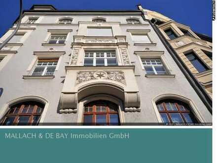 Altbau Wohnung mit Balkon als Anlage