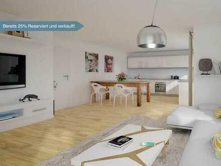Hochwertige Ausstattung bis ins Detail - ETW mit 2 Zimmer und Balkon in bester Lage