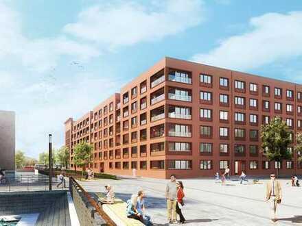 Urban und doch so entspannt! Großzügige 3-Zimmer-Wohnung mit Wasserblick im Zollhafen Mainz