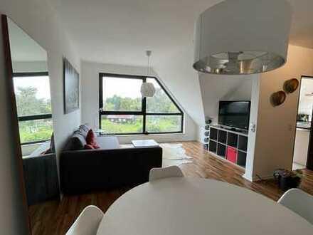 Sehr helle, gepflegte und möblierte Maisonette-Wohnung in Dortmund