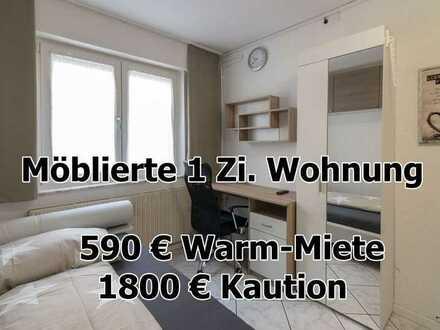 ab 01.05.2021 - 1 Zimmer Wohnung in Pforzheim - vollständig möbliert