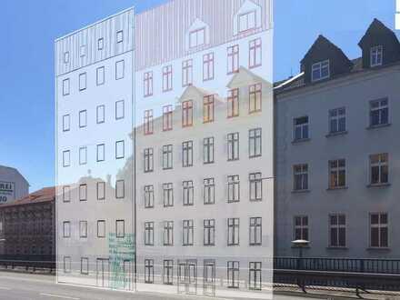 Bestandsgebäude und Grundstück mit Bauvorbescheid am S+U-Bhf Lichtenberg