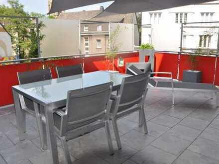Exklusive 3 Zimmer Wohnung + KDB mit großer Dachterrasse zum Entspannen