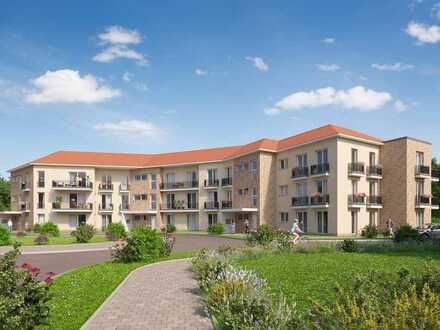 Großzügige 2-Zimmer-Wohnung mit Süd-West-Terrasse umgeben von viel Licht und frischer Parkluft