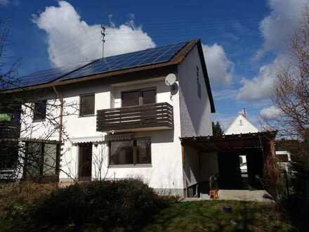 Attraktive Doppelhaushälfte mit vier Zimmern und Einbauküche in Krumbach (Schwaben), Krumbach