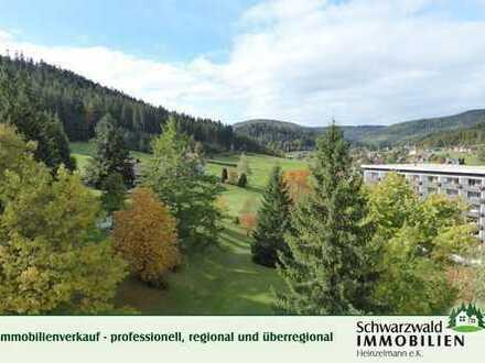 Wo Wohnen am schönsten ist: 3-Zimmer-Wohnung in Aussichtslage von Baiersbronn