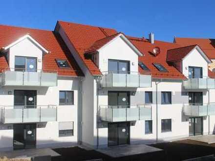 Helle Neubauwohnung in Walleshausen zum Erstbezug