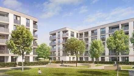 Erstbezug: exklusive 2-Zimmer-Erdgeschosswohnung mit Einbauküche und Terasse in Aubing