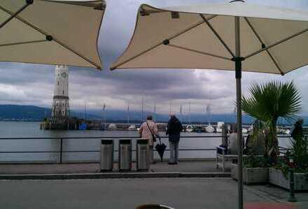 """Helle, neu sanierte Terrassenwohnung """"2-Ebenen"""" +Lift im Herzen der Insel Lindau"""