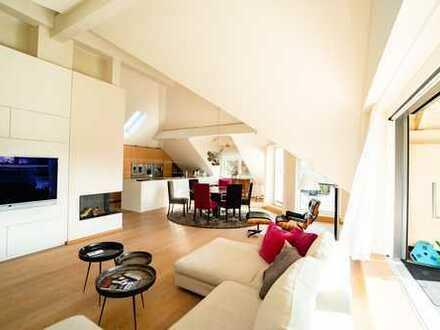 Exklusive Dachterrassen-Maisonette Wohnung mit Berg- und Seeblick
