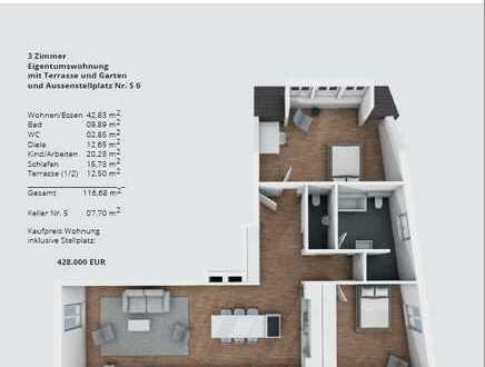 NEUBAU Wohnungen in Karlsbad-Ittersbach zu VERKAUFEN !!!