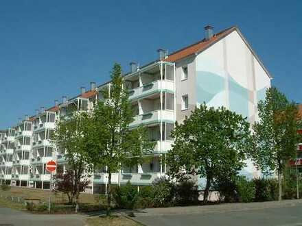 Geräumige 2-Raum-Wohnung mit großem Balkon in ruhiger Lage!