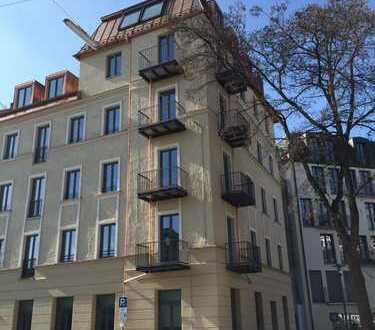 Stylische 2-Zimmer-Wohnung, exklusiv möbliert - Ludwigsvorstadt - Wohnen auf Zeit: 3 - 24 Monate