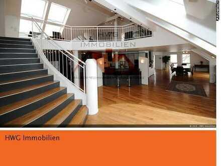 Großzügige, lichtdurchflutete Maisonette Penthouse mit 270m² auf zwei Ebenen