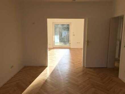 Traumhafte 3 Zimmerwohnung mit Wintergarten Bestlage direkt am Prinzenpark, teilmöbliert