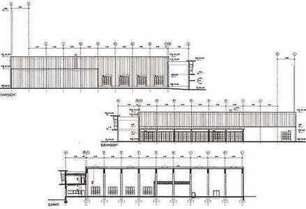 Gewerbegrund | Truckerfreundlich - genehmigter Bauplan für Logistikzentrum | auch teilbar