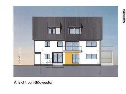 Neubau - Schöne 4-5-Zi-ETW mit großem Balkon im DG eines Vierfamilienhauses in Top-Lage