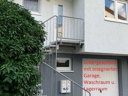 5-Zimmer-Reihenhaus mit Einbauküche in Waldenbuch, integrierte Garage