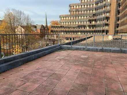 Top City-Wohnung mit großer Dachterrasse - Erstbezug nach Renovierung! Rückwärtig zur Oper!