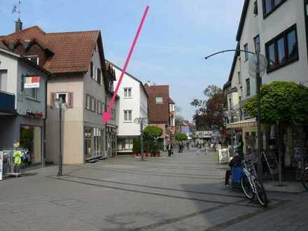 73207 Plochingen: 1A-Lage Marktstraße kleine Gewerbeeinheit – Ladengeschäft zentral in Fußgängerzone