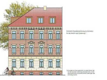 *ERSTBEZUG - 4-R-Whg., Parkett, Fußbodenheizung, Stuck, 2 Balkone, Terrasse, Gartenanteil, Carport*