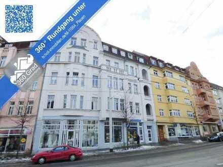 *** Attraktive 2-Raum-ETW mit Balkon/Loggia ***  in Zentrumslage von Plauen