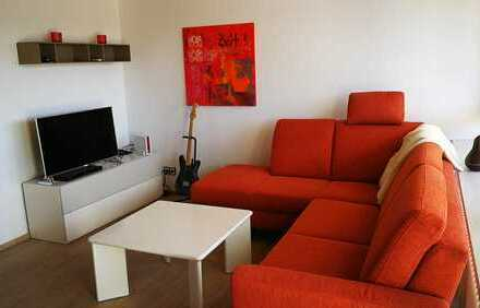 Modern möblierte 1 1/2-Zimmer Wohnung in LB-Neckarweihingen