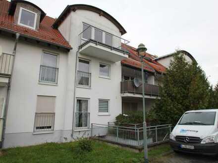 attraktive 2-Raumwohnung im EG mit Balkon